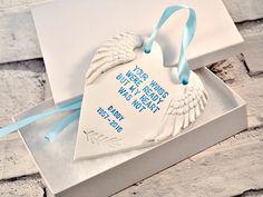 Your wings were ready, Personalised memorial keepsake, Condolence gift in memory…