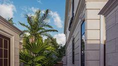 Best villa exteriors Interior Design Companies, Cactus Plants, Exterior Design, Villa, House Design, Luxury, Homes, Unique, House 2