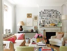 small spaces, white walls...that's what I'll be working with