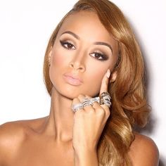 Draya Michele ★ On Pinterest Ell Makeup And Daphne Joy