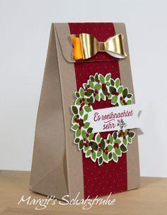 Geschenktüte und Tasche mit dem Gift Bag Punch Board