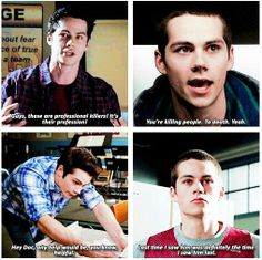 Find images and videos about teen wolf, stiles and tw on We Heart It - the app to get lost in what you love. Teen Wolf Quotes, Teen Wolf Funny, Teen Wolf Memes, Teen Wolf Boys, Teen Wolf Dylan, Teen Wolf Cast, Dylan O'brien, Teen Wolf Ships, Teen Tv