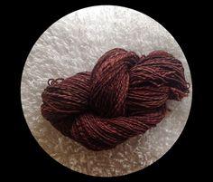 Chocolate yarn.