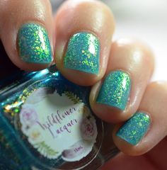 Wildflower Lacquer Don't Play Koi swatch Nail Polish Blog, Metallic Colors, Gorgeous Nails, Little Star, Koi, Swatch, Beauty Makeup, Girly, Play