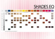 Redken Shades Eq Color Chart 26 Charts Template Lab By