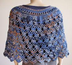 Crochet Poncho Crochet Shawl Crochet Shrug Coverup