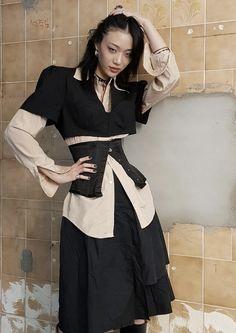 Behavior, Victorian, Model, Dresses, Fashion, Behance, Moda, Vestidos