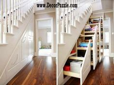 Innovative under stairs storage ideas and solutions, under stairs wardrobe  The best under stairs ideas by perfect designers with the top under stairs storage solutions, see the innovative ideas