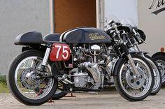 Racing Motorcycles, British Motorcycles, Vintage Motorcycles, Custom Motorcycles, Custom Bikes, Cafe Racer Motorcycle, Moto Bike, Cafe Moto, Classic Motorcycle