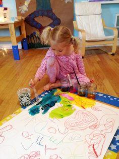 Watercolor Techniques for Kids - watercolor resist