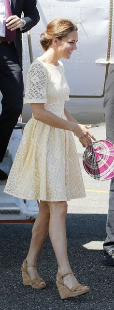 The Queen probably has to have a talk with Kate Middleton over her favorite pair of shoes.