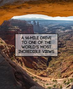 Dead Horse Point Scenic Drive will leave you speechless #moab #utah #nature #travel #optoutside