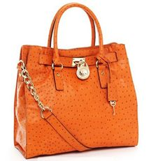 MICHAEL Kors Hamilton Tote in Orange!! MINE MINE MINE