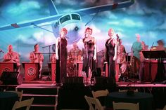 The 8th Army Air Corp Orchestra with the Andrews Sister style trio can provide hours of glamorous vintage entertainment for your event