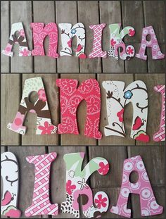 Cocalo Taffy Inspired Hand Painted Wooden por DanicaBowtique