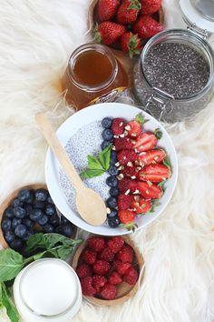 Blog Cuisine & DIY Bordeaux - Bonjour Darling - Anne-Laure: Pudding aux graines de chia fruité