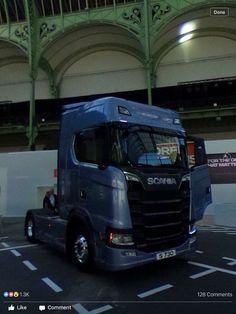 The new Scania. Can't wait to drive it. #nextgenscania