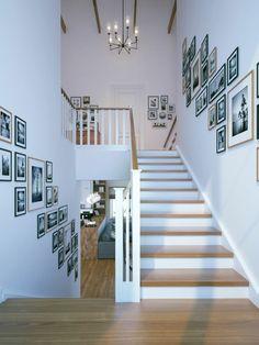 Treppenhaus gestalten beispiele  Pin von Houston Home Staging auf Staircase renovation by Venetian ...