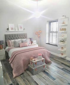 Modern Bedroom Design Trends and Ideas in 2019 Part bedroom ideas; bedroom ideas for small room; Bedroom Decor For Teen Girls, Cute Bedroom Ideas, Girl Bedroom Designs, Modern Bedroom Design, Room Ideas Bedroom, Home Decor Bedroom, Bedroom Inspo, Master Bedroom, Teen Bedroom