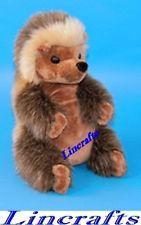 Hedgehog Sitting Lg Plush Soft Toy by Dowman Soft Touch