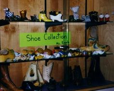 Project Approach about shoes.  I love the project approach.
