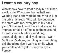 <3 country boy w heart and character <3