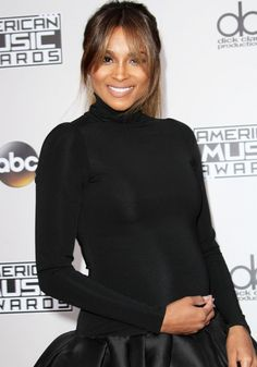 Ciara at the 2016 American Music Awards Arrivals held at the Microsoft Theatre in Los Angeles on November 20, 2016