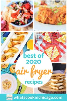 We made it through another delicious, food-filled year! Here is a list of the best Air Fryer recipes I made this year! This year, I focused on beginner recipes to test out the versatility of an air fryer - in fact, I find the air fryer to be much easier to use compared to an electric pressure cooker! I can't wait to get started on 2021 recipes to try out and share! Until then, here's a fond farewell to 2020 and a delicious outlook for 2021! Desserts For A Crowd, Fancy Desserts, Dessert Recipes, Air Fryer Fried Chicken, Air Fryer Baked Potato, Christmas Deserts, Thanksgiving Desserts, Beginner Recipes, Cinnamon Chips
