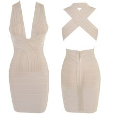 free shipping 2013 hl dress new beige halter presided models bandage dress Short Dress on AliExpress.com. 10% off $81.00