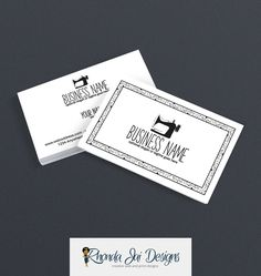 7 best sewing themed business cards images on pinterest blog business card designs sewing themed business card sewing business cards sewing 101 black reheart Images