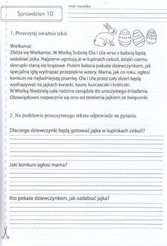 Sprawdziany 2 polski matematyka przyroda testy - 5336304966 - oficjalne archiwum allegro Teacher Morale, Polish Language, Wedding Cards, Religion, Classroom, Education, School, Speech Language Therapy, Activities