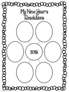 """FREEBIE! With this Happy New Year writing packet, students will reflect upon 2014 by thinking of """"proud moments"""" and set goals/resolutions for 2015."""