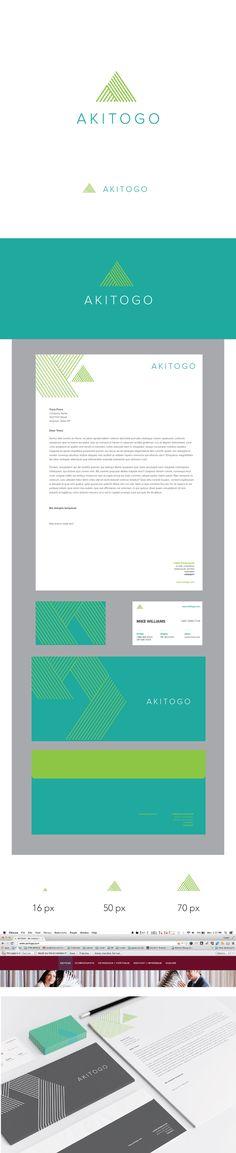 Colores seleccionados, utilizar como color dominante el verde de fondo (de las tarjetas de presentación)