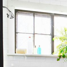 Also good, add depth to windowsill, check out the pvc options