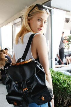 Model summer style at the Gansevoort hotel: The ultimate model off duty look
