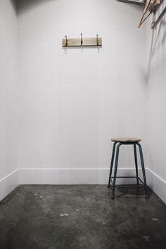Industrial stool • Photography by Luis Valdizon • #interiors #menswear #shop #boutique #antique #scottandon #architecture #vintage #design