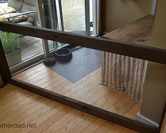 DIY Dog Fence: a custom rustic style gate for a climbing Jack Russell
