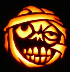 Carved Pumpkin- I'm not sure who this is.