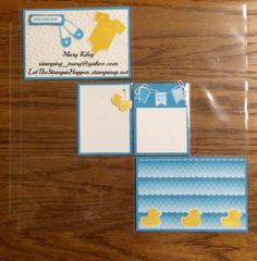Baby Boy - Memory Keeping by mjkiley - Cards and Paper Crafts at Splitcoaststampers