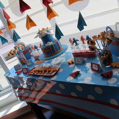Project Nursery - Disney Planes Dessert Table