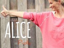 EBook ALICE - ein RaglanFledermausSweater