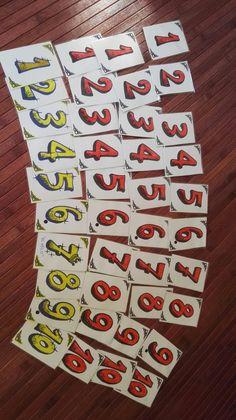 """Cartas para jugar a """"La escoba"""""""