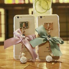 Fashion Girly Phone Cases For iPhone 6 6s Case Silicon Bow Soft TPU Back Cover For iPhone 6plus 6splus Case Luxury Coque Fundas