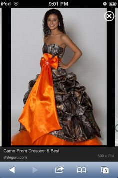 Country girl prom dress