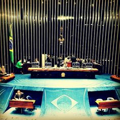 Plenário do Senado, onde os problemas do país são debatidos. #Senado #Brasilia #politica #Brasil #Brazil