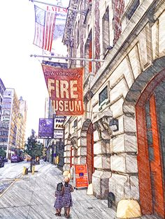 The FDNY Museum on Spring Street, Manhattan