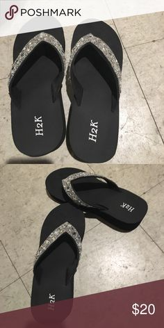 4c8c4afef Coach Jessalyn Flip Flops (Blue) in 2018