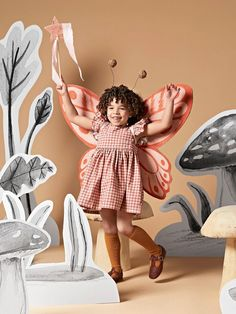 How to Make a Colorful Butterfly Halloween Costume for Kids