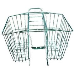 Bicycle Basket Wald 520 Rear Rack Twin Carrier With Mounting Hardware Medium for sale online Rear Bike Basket, Rear Bike Rack, Bicycle Basket, Bike Baskets, Cool Bicycles, Vintage Bicycles, Twin Carrier, Cruiser Bicycle, Bicycle Accessories