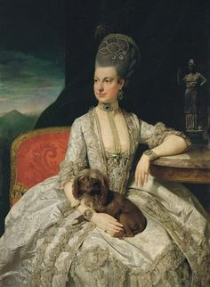 """Archduchess Maria Christina, Duchess of Teschen, (1742-1798), called """"Mimi"""", was the second girl and fifth child of Maria Theresa of Austria and Francis I, Holy Roman Emperor."""
